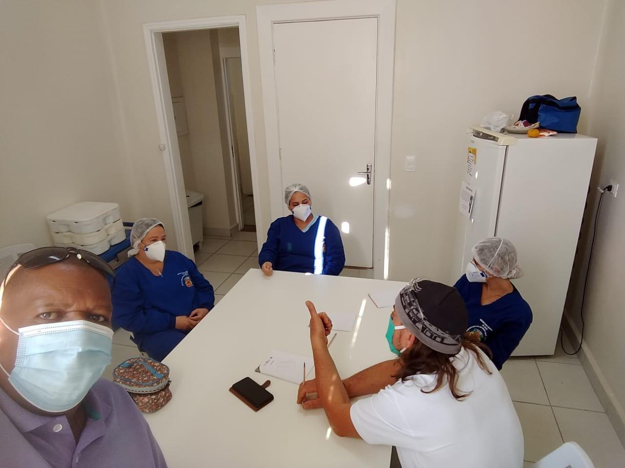 SISMI visita Hospital de Campanha Municipal